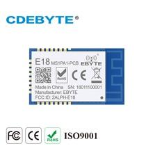 E18 MS1PA1 PCB Zigbee IO CC2530 PA 2.4Ghz 100mW PCB Antenna IoT uhf Ricetrasmettitore Wireless Trasmettitore e Ricevitore RF Modulo