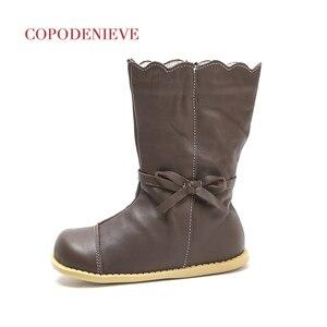 Image 2 - COPODENIEVE Winter Splash Waterproof Girls Boots Ski Cloth Warm Snow Boots Kids Boys,Fleece Children Shoes Girls Mother Daughter