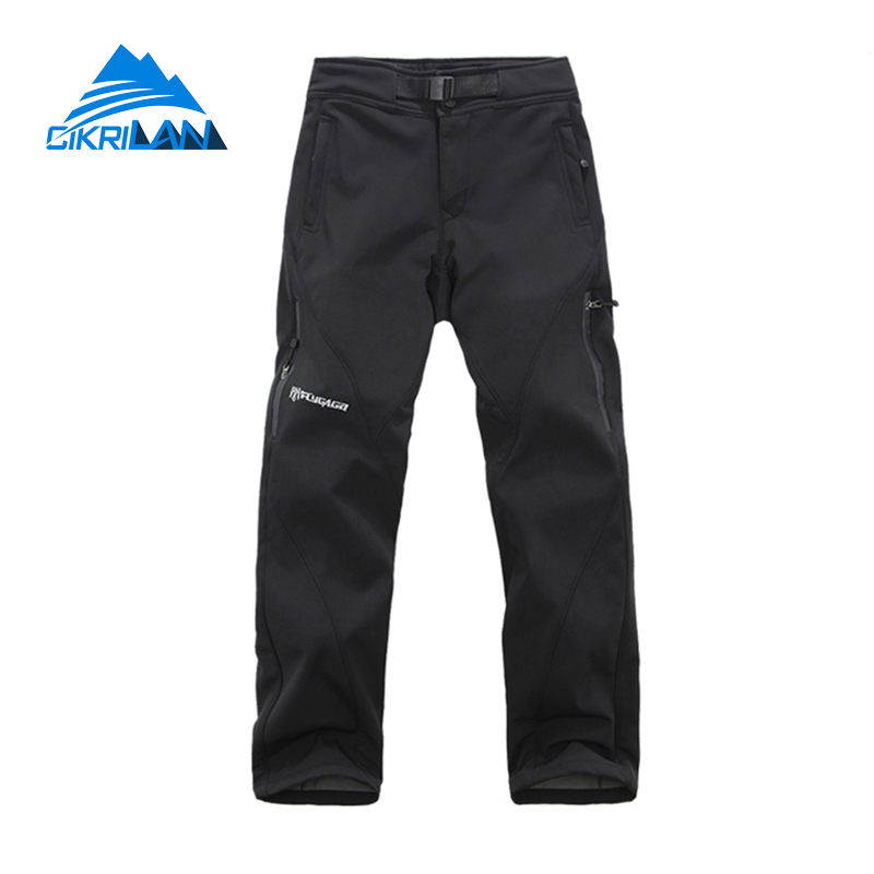 Outdoor Trekking Climbing Camping Hiking font b Pants b font Men Snowboard Trousers Windbreaker Water Resistant