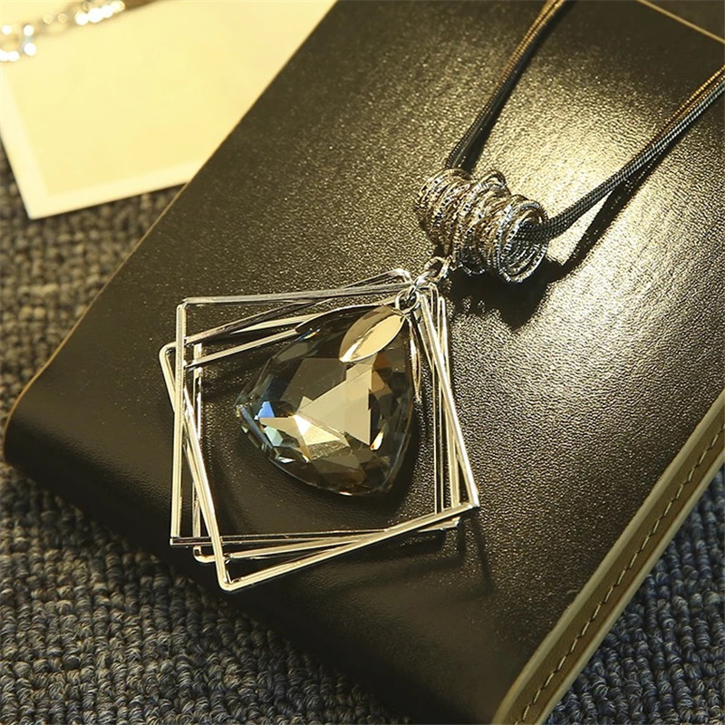 BYSPT-Women-Pendant-Necklaces-Square-Waterdrop-Ball-Crystal-Necklace-Chain-Necklace-Long-Sweater-Necklace
