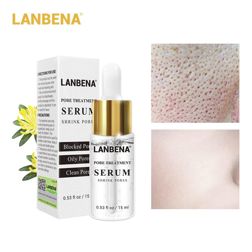 LANBENA Pores Shrink Serum Oil Control Balance  Essence Natural T Zone Care Smooth Skin Care Gel Hydrating Gel