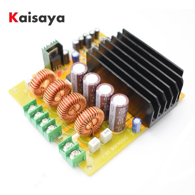 2x300 Вт TAS5630 двухканальный класса D Цифровой Усилитель мощности доска с AD827 предварительно HIFI C2-004