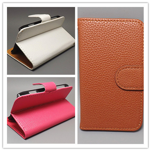 Luxury Litchi leather case cover with stand function FOR ZTE Grand X V970 V970M U970,free shipping