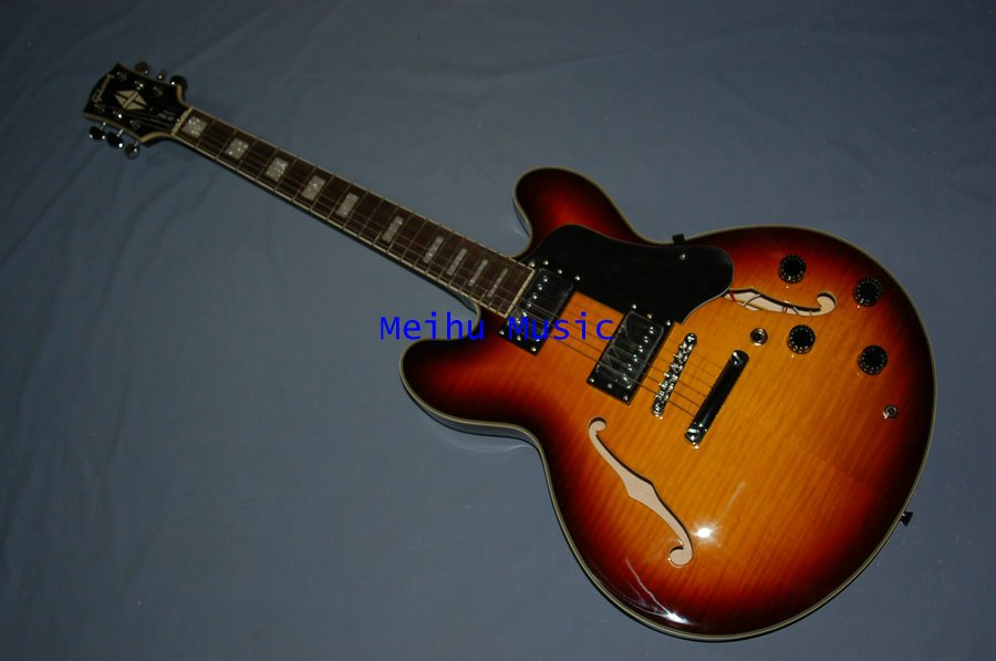 ES335 ES-335 JAZZ electric guitar MS Color China manufacturer