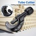 Регулируемый трубчатый резак для труб  сверхмощный резак  ПВХ пластиковый медный  медно-Алюминиевый нож для водопроводного резака 3 мм-35 мм