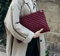 Ромбовидная решетка Для женщин Повседневная Сумка-клатч из искусственной кожи Для женщин клатчи женские сумки конверт сумка Роскошные веч...
