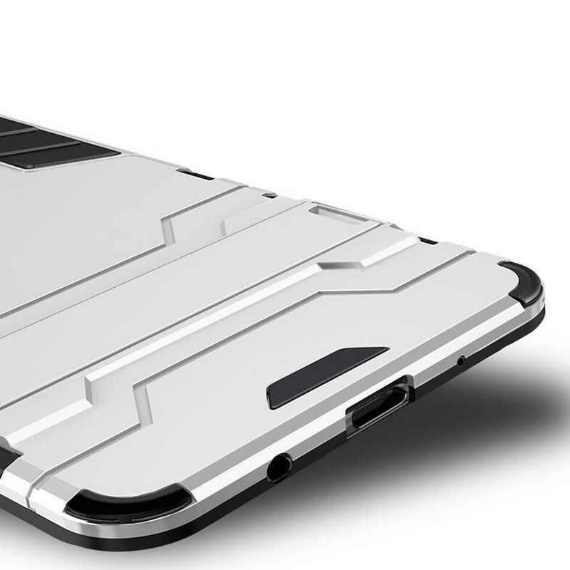 Противоударный чехол для мобильного телефона для samsung Note 9 8 накладка с подставкой для Galaxy S9 S8 плюс A6 A8 2018 A3 A5 A7 2017 армированный рc + ТПУ чехлы