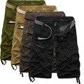 New Arrival Mens Shorts High Quality Multi-pocket Short Men Cotton Work Casual Shorts No Belt 4 Colors