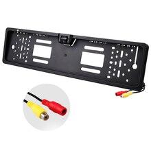 Univesal Автомобильная рамка для номерного знака, камера заднего вида, HD авто камера для европейских номерных знаков с резервной камерой заднего вида