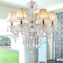 Modern crystal chandelier K9 crystal 110~240V lustres de cristal chandelier for living room or bedroom lighting lustre para sala