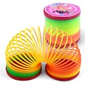 Magic Plastic Slinky Rainbow Spring Colorful Children Funny Classic Toy Color Randomly New