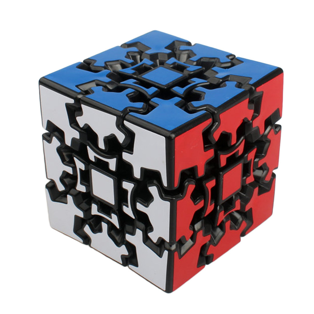 Brand New X-cube 6cm 3x3x3 Gear Magic Cube 3D Puzzle Cubes Educational Toy Special Toys For Children cubo magico Christmas Gift hot ocday special toys 12 side megaminx magic cube puzzle speed cubes educational toy new sale