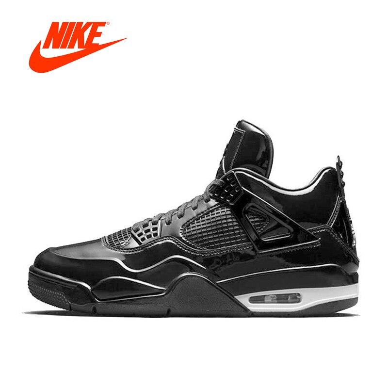 Оригинальный Новое поступление Аутентичные Nike Air Jordan 4 lab4 AJ4 Для мужчин дышащие Баскетбольные кеды спортивные Спортивная обувь