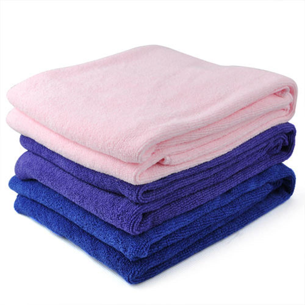 FJS! Microfibre Sports Travel Fitness Beach Swim Bath Towel - purple ...