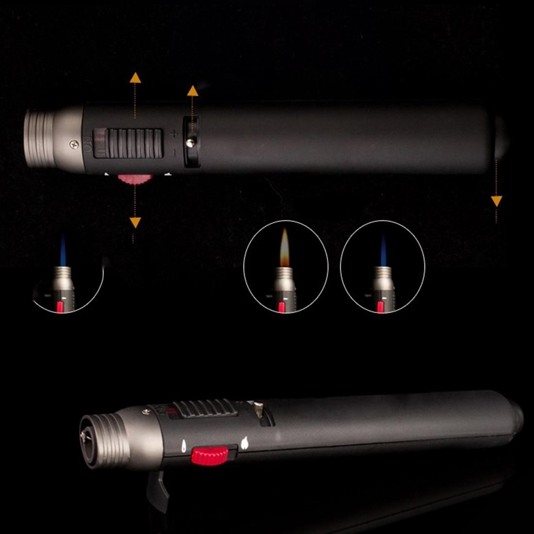 Mini Welding Outdoor Lighter 1300 Degree Torch Jet Flame Portable Pencil Butane Gas Refillable Fuel Welding Soldering Pen
