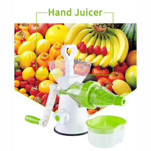 Portable Juicer Single Auger Juicer For Wheatgrass Fresh Fruit Extractor Kitchen Tool Vegetables Juicer Machine Kitchen Tools