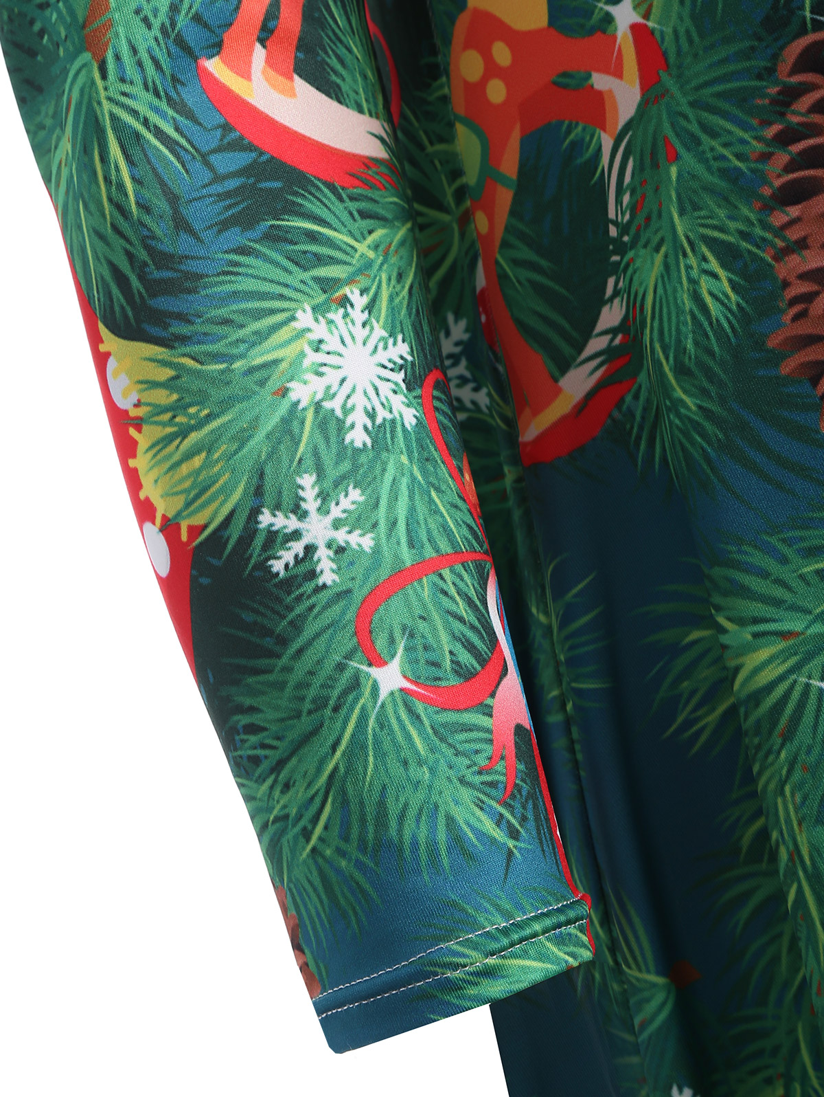 f88c3a64a7 Gamiss Plus Size Christmas Tree Print Party Dress Women Mountains And Trees  Print Party Dresses Christmas Dress 4XL-in Dresses from Women s Clothing on  ...
