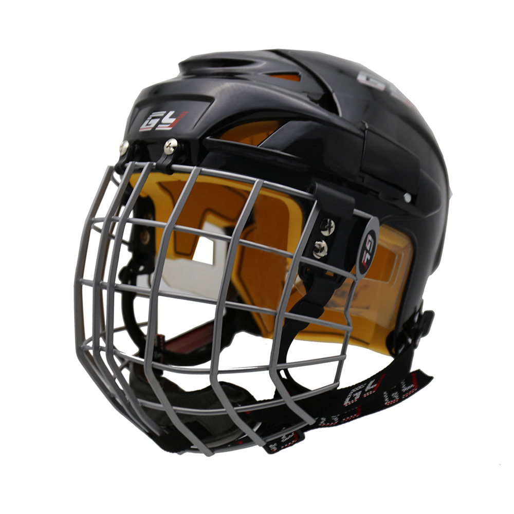 GY SPORTS New Design Ice Hockey Helmet for Adult Free Shipping CE Approval Combos A3 Steel