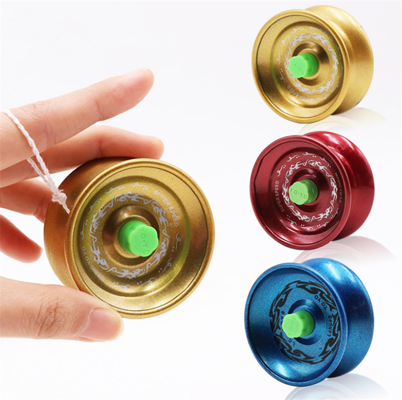 Frugal Hot Sale Yoyo Classic Kids Toys Professional Magic Yoyo K1 Spin Aluminum Alloy Metal Yoyo 8 Ball Kk Bearing With Spinning String Toys & Hobbies Yoyos