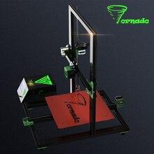 2017 tevo Торнадо 3D-принтеры Полностью Собранный алюминиевого профиля 3D Принтер часть impresora 3D Высокая точность с Titan экструдер