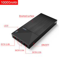 Remax RPP 55 Power Bank 10000mAh With Digital Display Portable External Battery Power Bank For Iphone