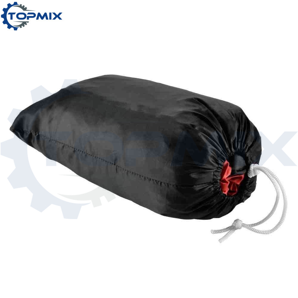 Motorcycle cover blackred 4