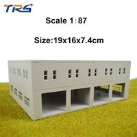 1/87 144 model factory HO scale architectural model building for train layout Free Shipping