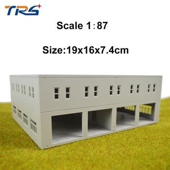 цена на 1/87-144  model factory HO scale architectural model building for train layout