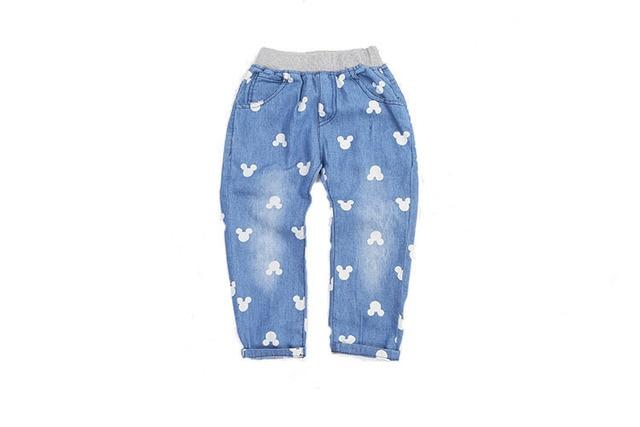 Alta calidad nuevo otoño moda niños de pantalones de mezclilla del ...