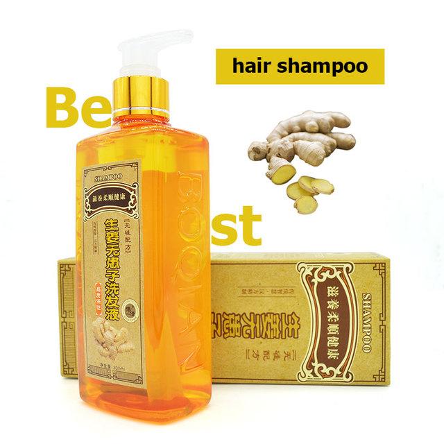 2016 nueva Jengibre Champú Para El Pelo Profesional 300 ml, la regeneración del cabello denso rápido, más grueso, aussie champú contra la caída del cabello producto