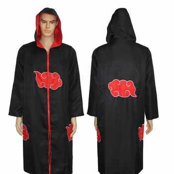 Anime naruto sasuke uchiha cosplay kostüm itachi kleidung heißer anime akatsuki mantel cosplay Halloween männer frauen Partei kostüm