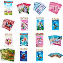 Wholesale Super Wings Mermaid Elsa Disposable Gift Bag Party Decorations Baby 1st Happy Birthday