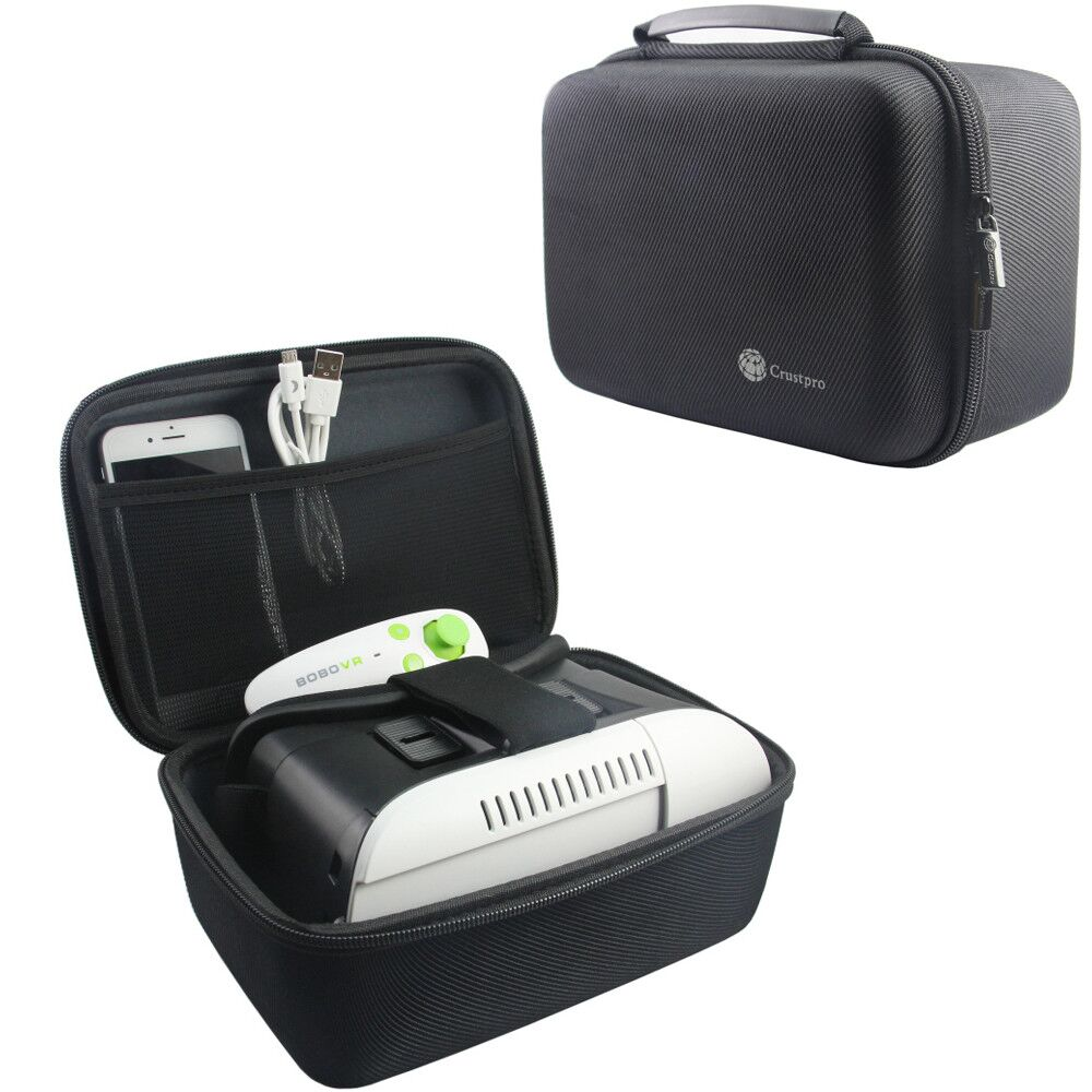 Travel Carrying Case For Oculus Go/Samsung Gear VR Galaxy S6,SM-R323,S6 Edge,S6 Edge+ (Plus) Note 5 Virtual Reality Headset 3D