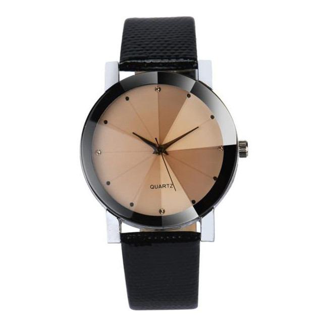 3 Style New Fashion Dress Brand Women Simple Crystal Dial Leather Buckle Saat Analog Quartz Wrist Watch Montre Femme Gifts