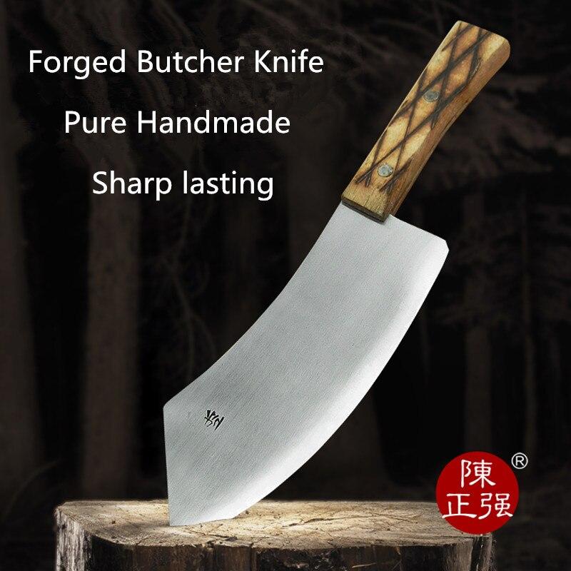 Профессиональный кованый нож MISGAR, кухонный нож для мяса утки, кухонный нож для резки свинины, нож для убоя