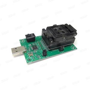 Image 5 - EMMC153/169 Test Buchse USB Reader IC größe 11,5x13mm NAND Flash Test für Daten Recovery