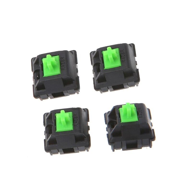 4Pcs Green RGB Switches For Razer Blackwidow Chroma Gaming Mechanical Keyboard