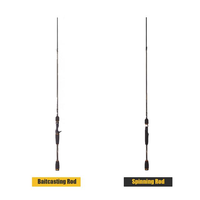 ABU GARCIA Carbon Lure Spinning Fishing Rod 2.01M