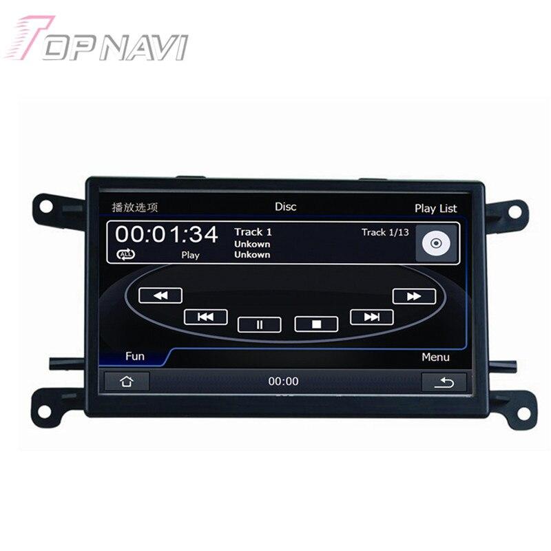 6.5 pulgadas Wince Radio Estereofonia Del Coche Para Audi A4 (B7 2005 2006-2008)