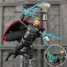 ¡Nuevo Marvel vengadores infinito guerra final THOR 6 «figura de acción con tormenta Breake KOs S.H! Figuarts SHF leyendas hijo de Odín juguetes de la muñeca