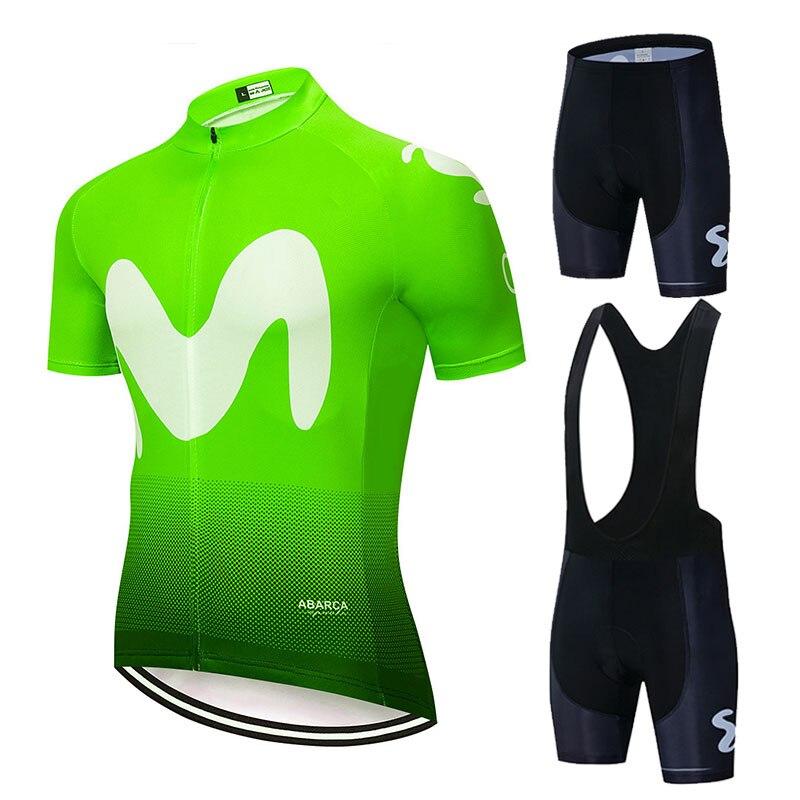2019 EQUIPE Colorido M Ciclismo jersey shorts da bicicleta gel 9D conjuntos ropa ciclismo Maillot Culotte biycling t dos homens
