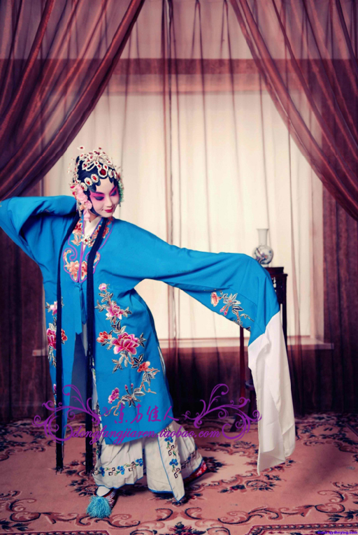 Unisex Chinese Traditional Peking Opera Hostess Oriental Beauty Costume Stage Clothing Multicolor Free Shipping