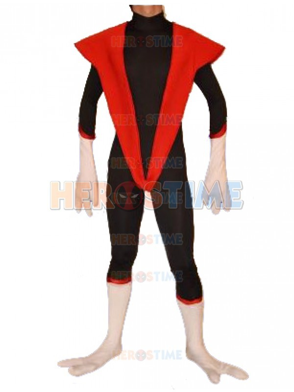 X-men Nightcrawler Costume Spandex Halloween Cosplay Party Superhero Zentai Show Suit Free Shipping
