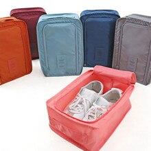 Продукт Удобная Экологичная дорожная необходимая нейлоновая сумка для хранения портативный органайзер сумки Сортировка обуви