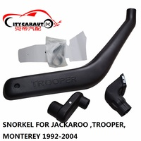 SNOKEL KIT FOR ISUZU JACKROO TROOPER MONTEREY Air Intake LLDPE Snorkel Kit Set FIT FOR I SUZU JACKAROO TROOPER MONTEREY 1992 04