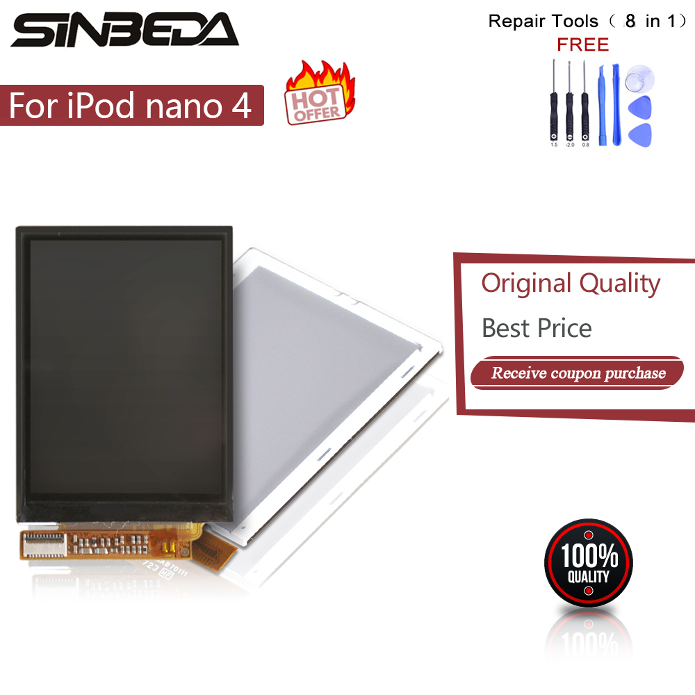 Sinbeda 100% Guaranty LCD Replacement For iPod Nano 4 4th Gen 8GB 16GB LCD Screen Display without Touch Screen For iPod Nano 4thSinbeda 100% Guaranty LCD Replacement For iPod Nano 4 4th Gen 8GB 16GB LCD Screen Display without Touch Screen For iPod Nano 4th