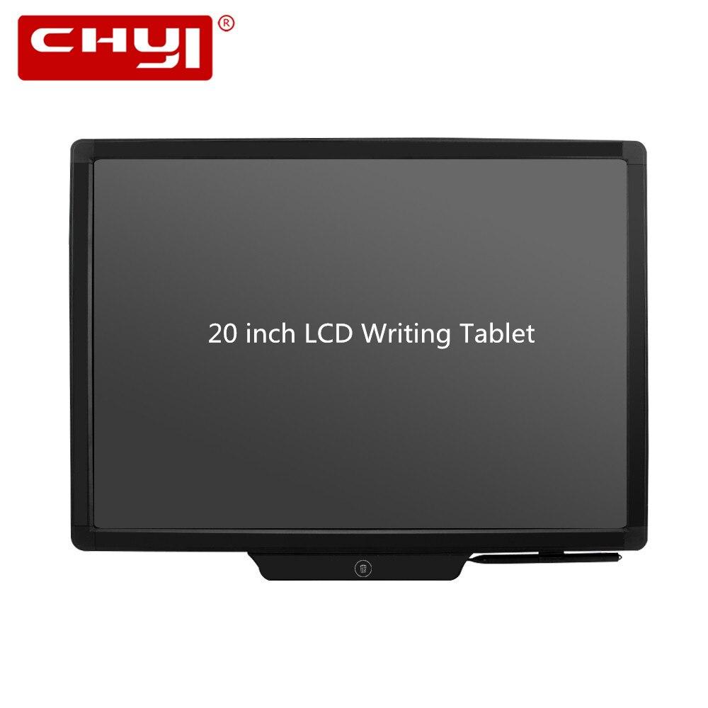 20 pouce Graphique Dessin Tablet Écriture Tapis Électronique LCD Tablette Portable Bloc-Notes Planche à Dessin avec Stylet