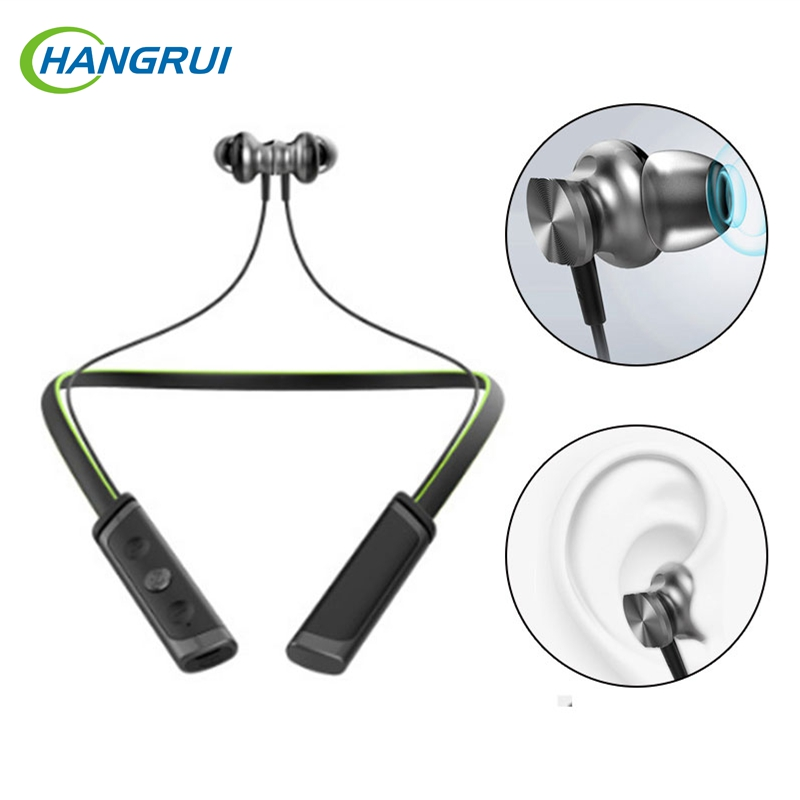 Hangrui Bluetooth Earphone With Microphone Waterproof Sport Headphones For ipod/For xiaomi fone de ouvido bluetooth headset showkoo stereo headset bluetooth wireless headphones with microphone fone de ouvido sport earphone for women girls auriculares
