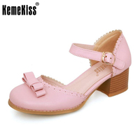 KemeKiss 3 Colors Size 32 44 Women High Heel Sandals Summe Shoes Women Bowknot Ankle Strap