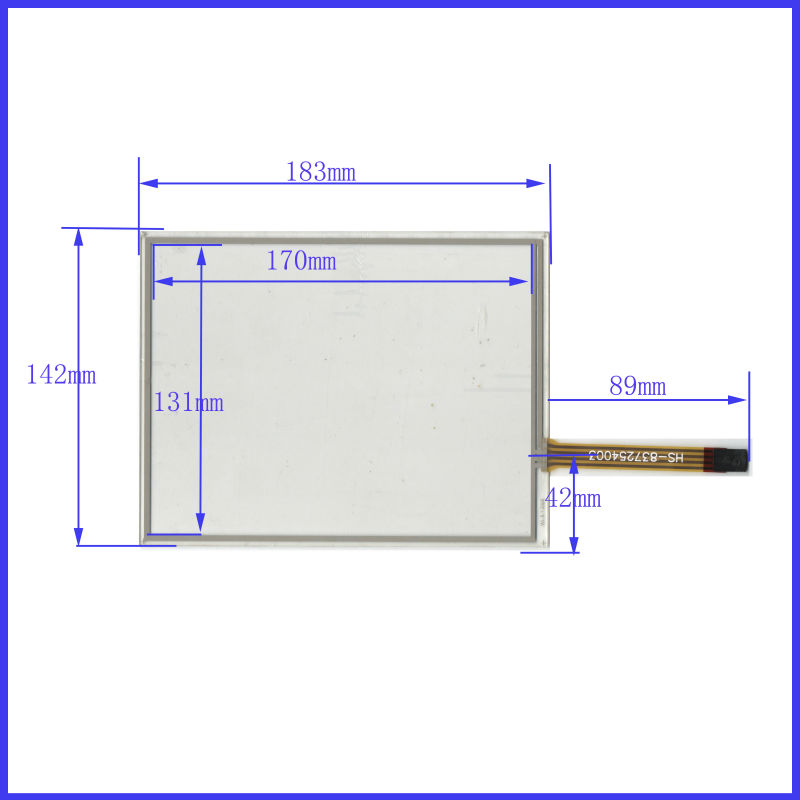 NEW Touch Screen 183mm*142mm 8.4inch glass 183*142 for TABLE commercial use